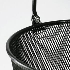KlickFix Oval Plus EF Basket black
